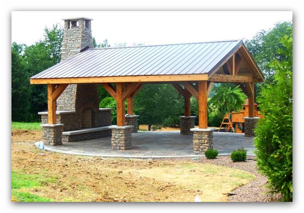 Pergola de madera zaragoza fabricacion montaje for Cenadores de madera para jardin